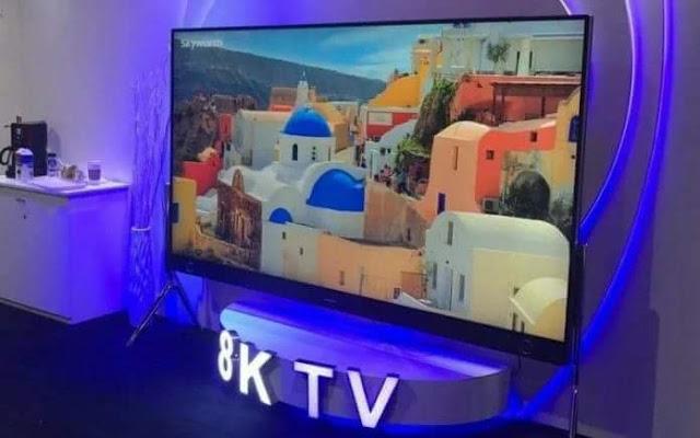 الكشف عن أجهزة تلفاز 8K TV