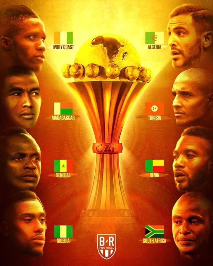 جدول مباريات ربع نهائي كاس افريقيا