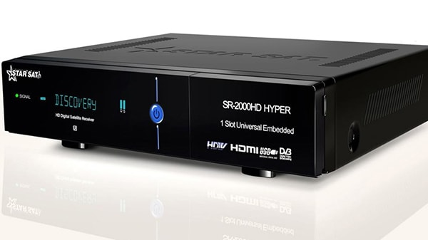 اخر تحديث لجهاز ستارسات STARSAT 2000HD هايبر