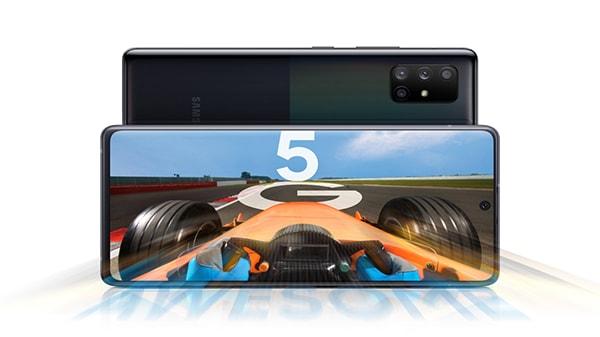 بالصور سامسونج تعلن عن 06 هواتف متوسطة المواصفات والسعر تدعم الجيل الخامس
