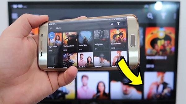 طريقة ربط جهاز الاستقبال بالهاتف والتحكم فيه بالفيديو