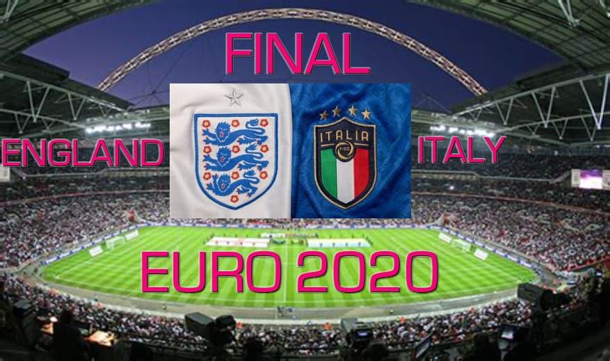 نهائي يورو 2020 انجلترا و إيطاليا England vs Italy